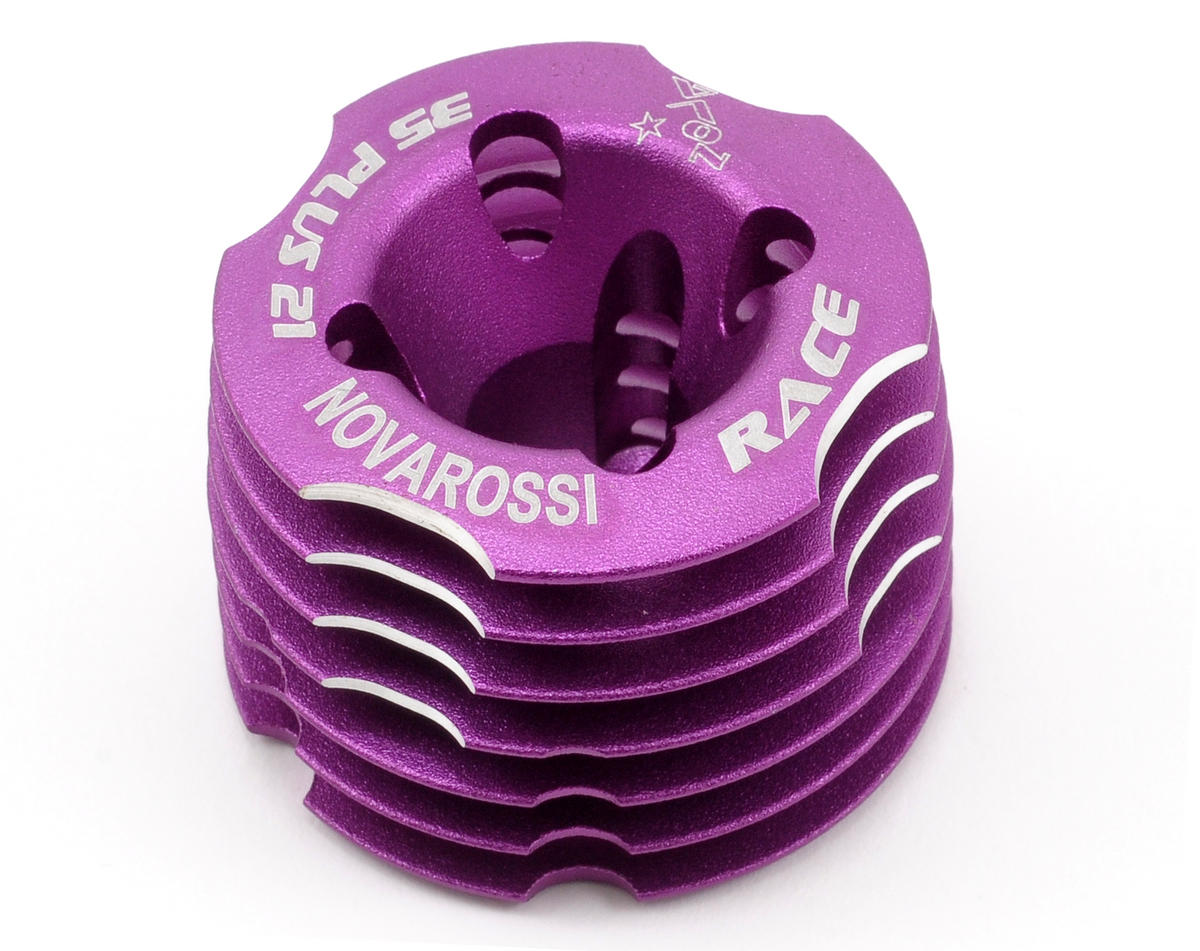 Novarossi On Road Cooling Head (Purple) (35 Plus 21)