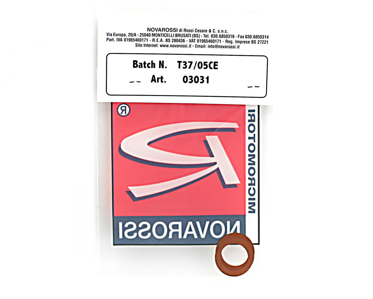 "Novarossi .21 Short Stroke (T21BF/N21B/BS-21SB) Head Shim 0.10mm/0.004"" Copper (5)"