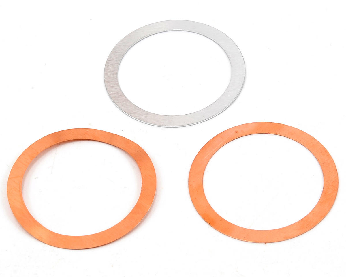 Novarossi R57HR 3D REX Copper Head Gasket Shim Set (3)
