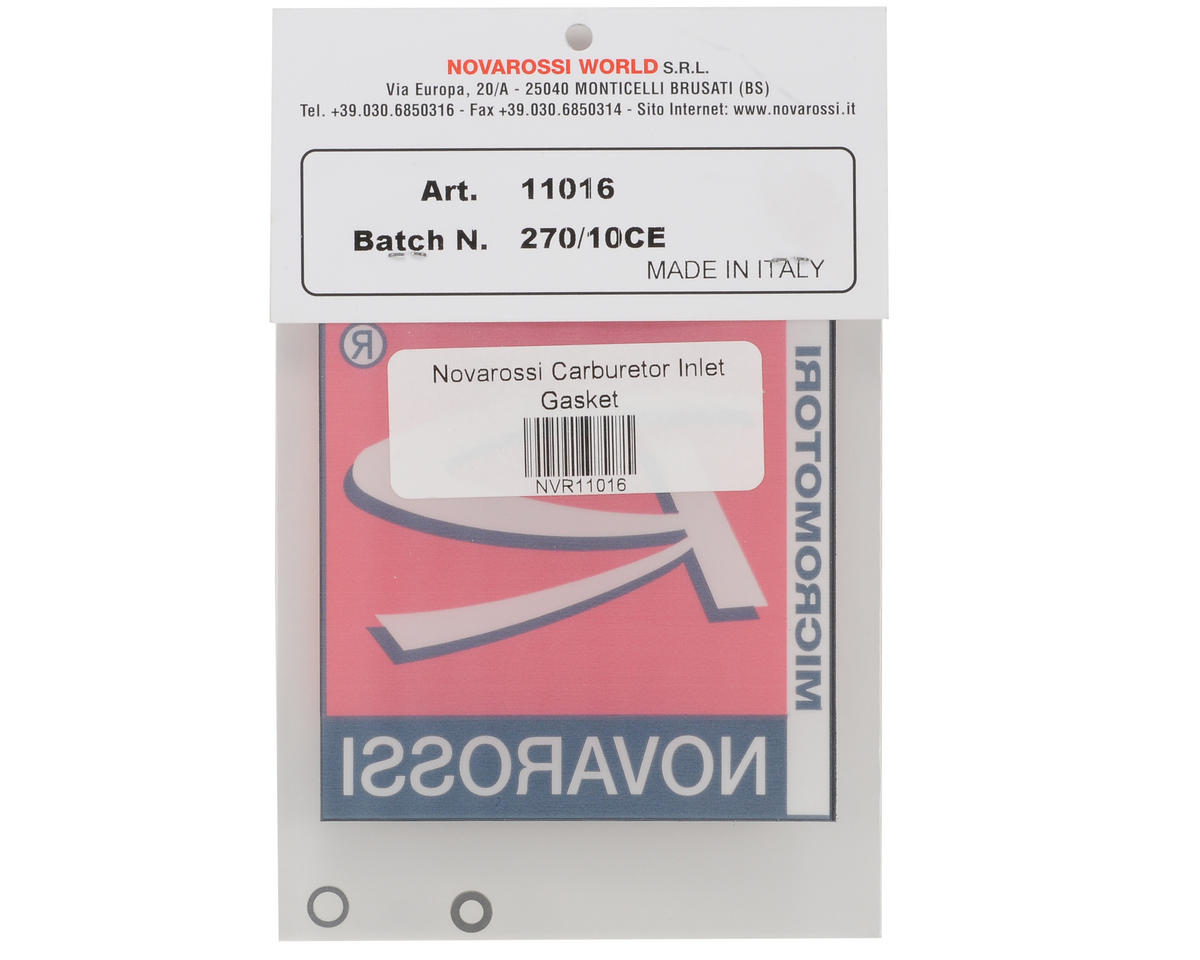 Novarossi Carburetor Inlet Gasket Set (2)