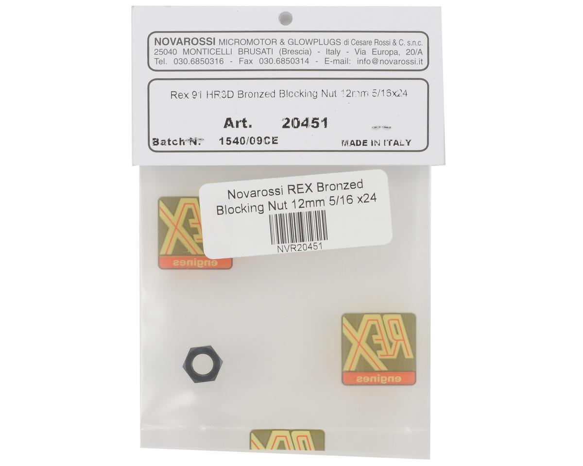 Novarossi 12mm REX Bronzed Crankshaft Blocking Nut