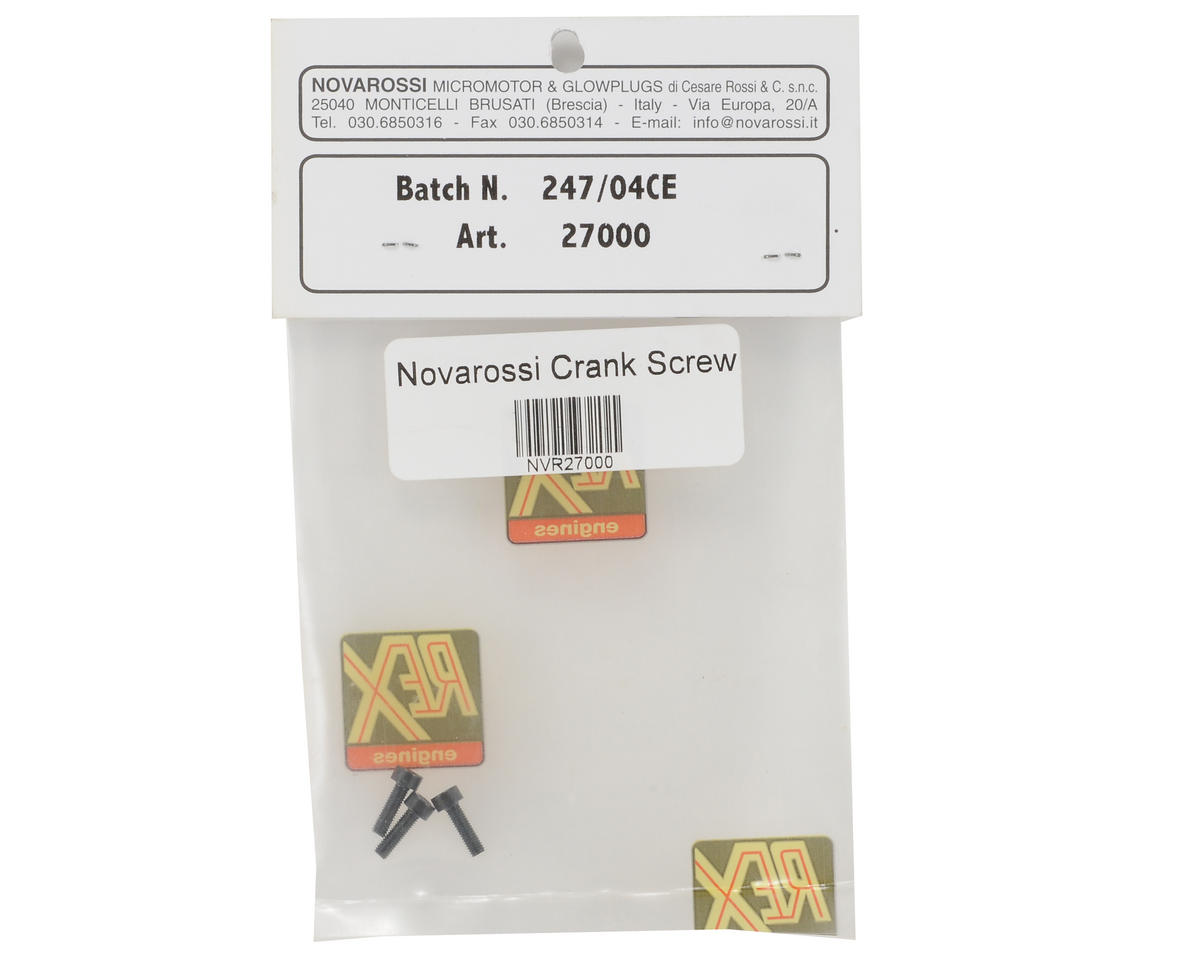 Crank Shaft Screw Set (3) by Novarossi