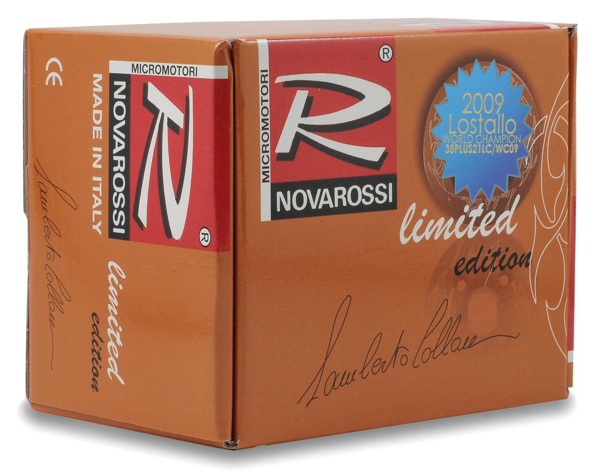 Novarossi 35 Plus 21LC/WC09 Limited Edition 9 Port .21 Competion On Road Engine (Turbo Plug)