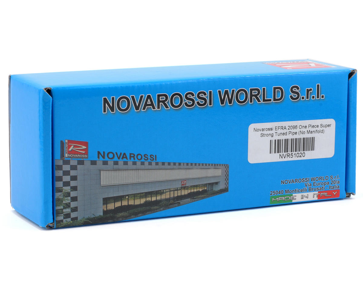 Novarossi EFRA 2096 One Piece Super Strong Tuned Pipe (No Manifold)