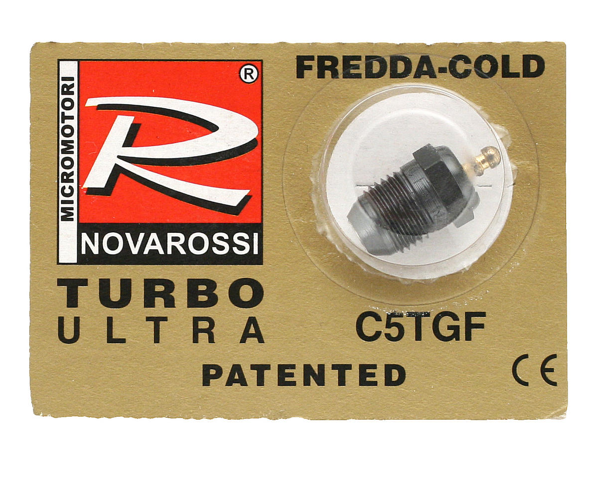 """Turbo"" #5 Short Body Ultra Glow Plug (Hot) by Novarossi"