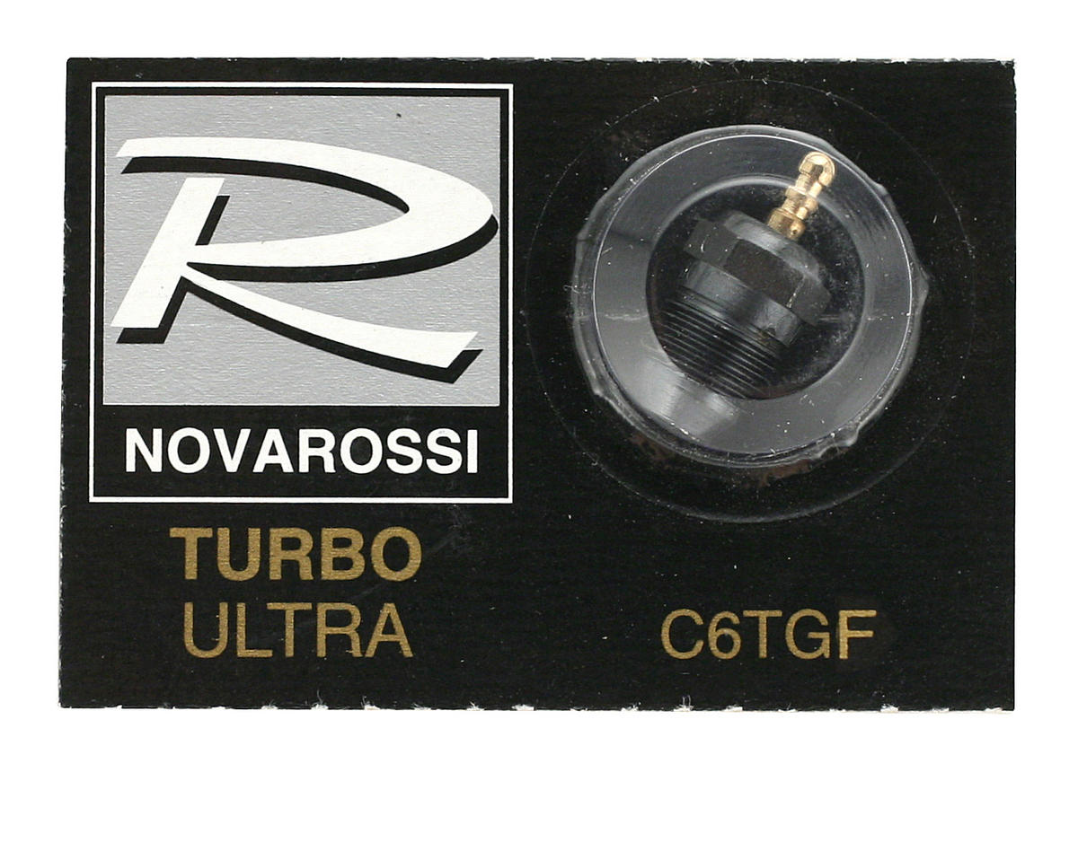"Novarossi ""Turbo"" #6 Short Body Ultra Glow Plug (Medium)"