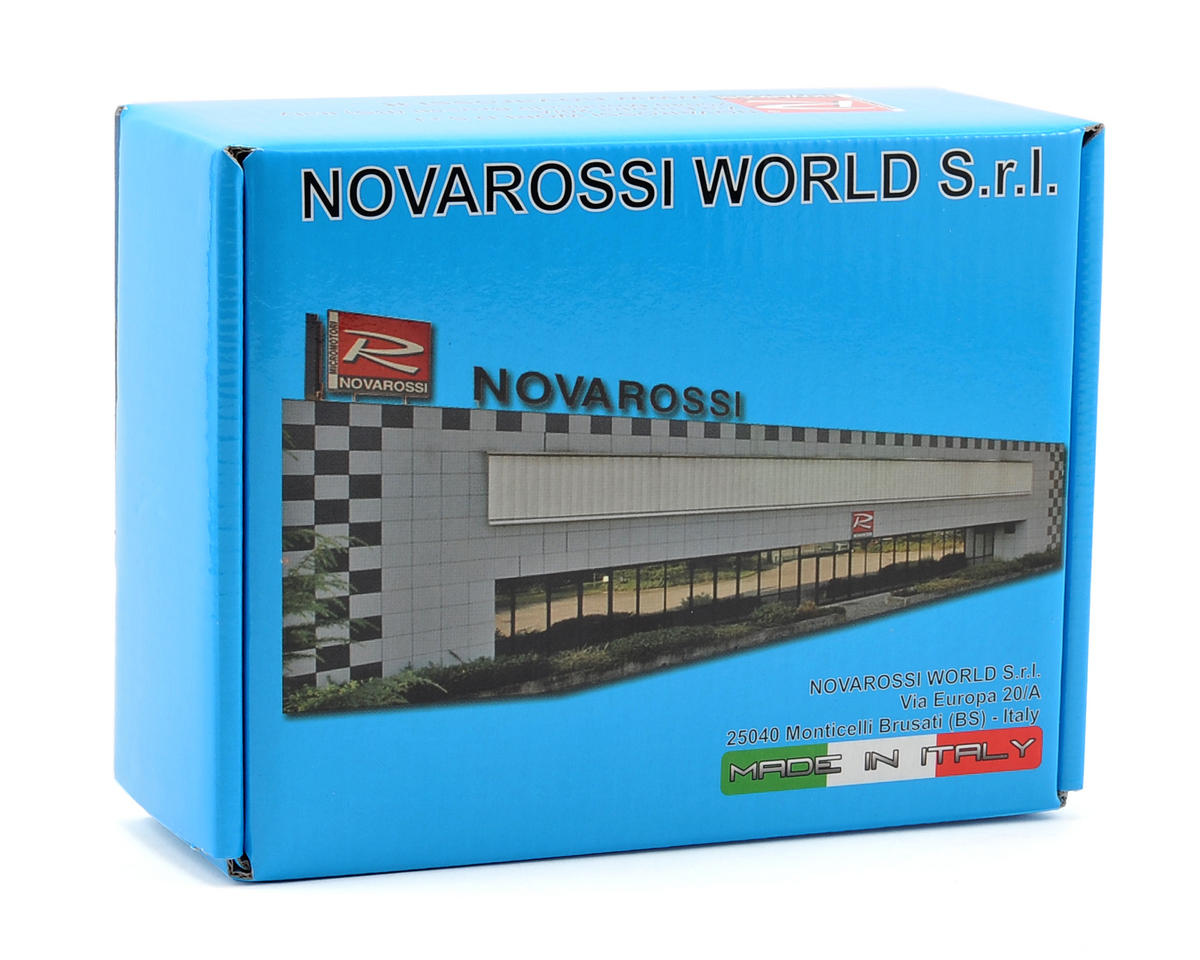 Novarossi FLASH.12-PT/A Tuned 3 Port .12 On Road Engine (Turbo Plug) (Steel Bearing)