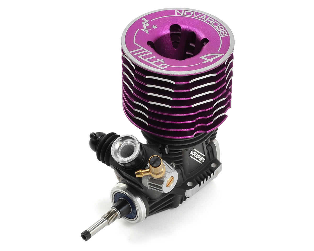 Novarossi Mito 4 Tuned .21 4-Port Off-Road Engine (Turbo Plug) (Ceramic)