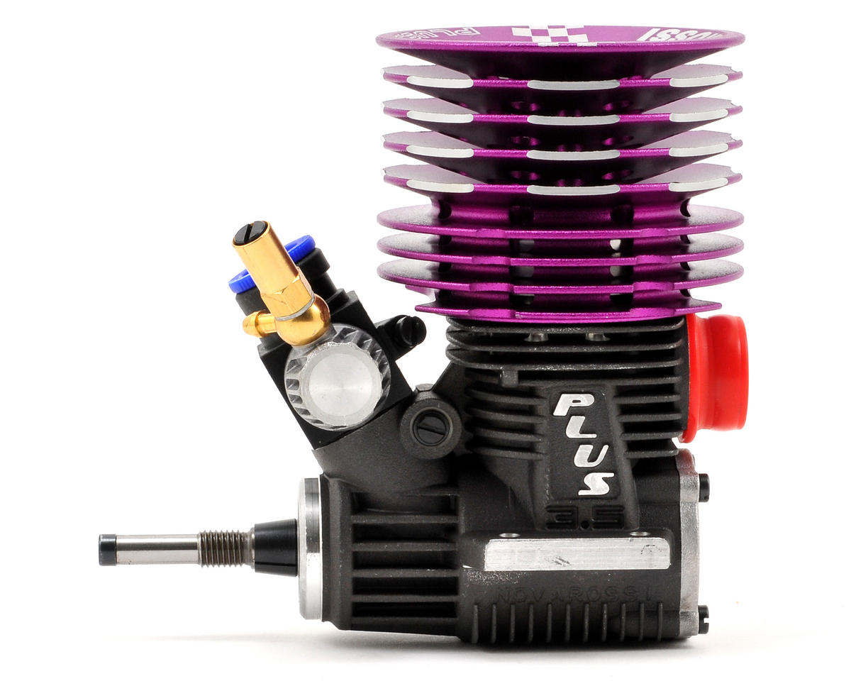 Novarossi PLUS.21-4BTTA Tuned 4 Port .21 Off Road Engine (Turbo) (Steel)