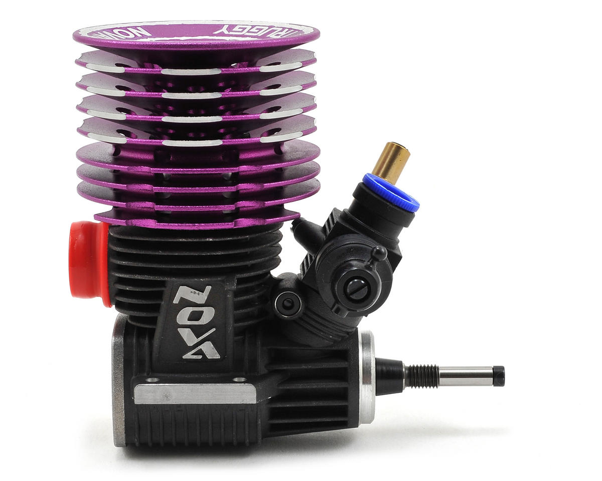 Novarossi ROMA Certified Pre-Run .25 Truggy Engine (Turbo) (Steel)