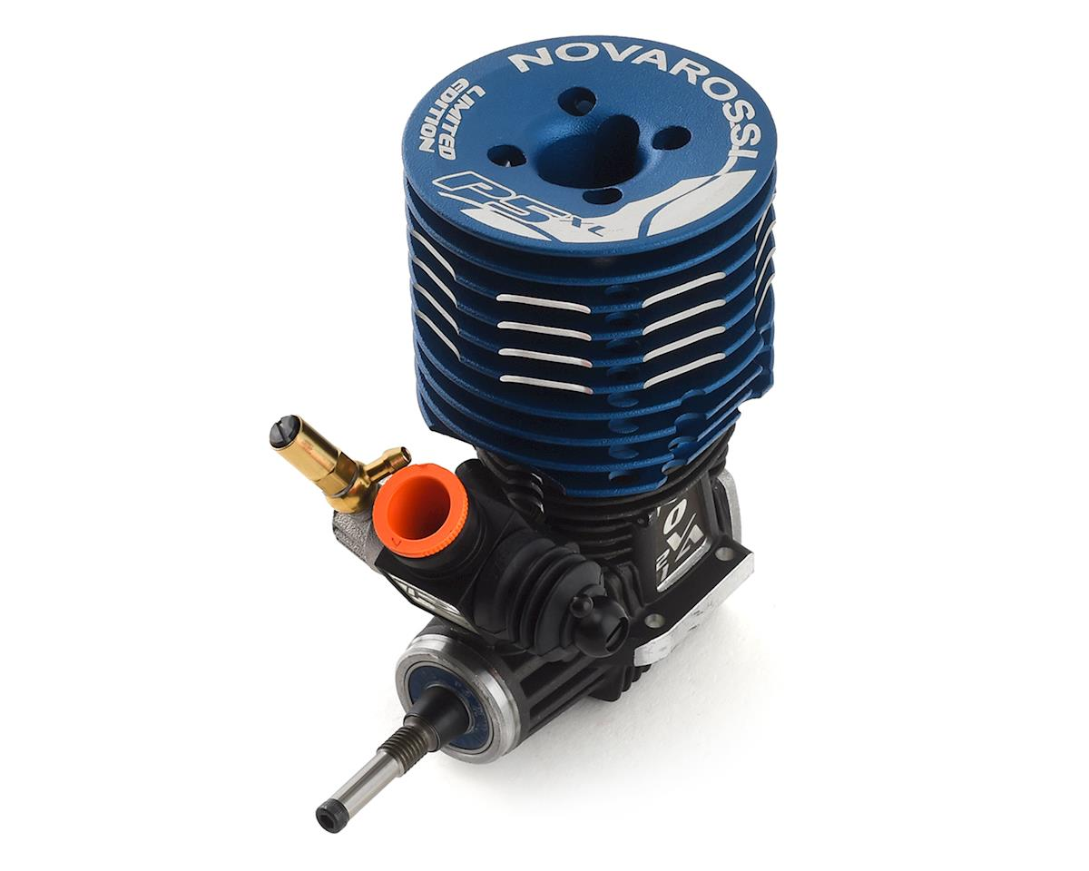 "Novarossi S21P5XLT ""Limited"" 5 Port .21 Off Road Engine (Turbo Plug) (Blue)"