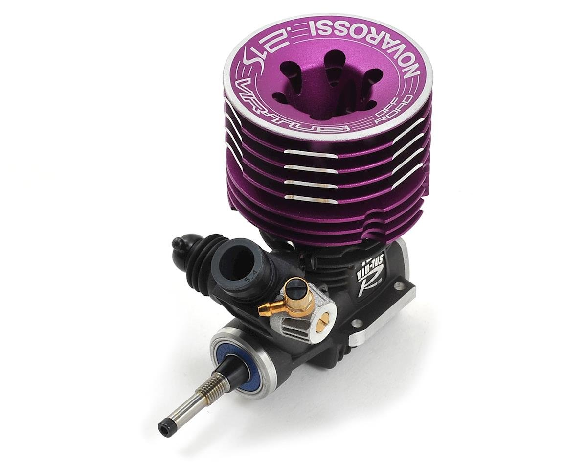 Novarossi VIR-TUS .21 7-Port Off-Road Engine (Turbo) (Ceramic Bearings)