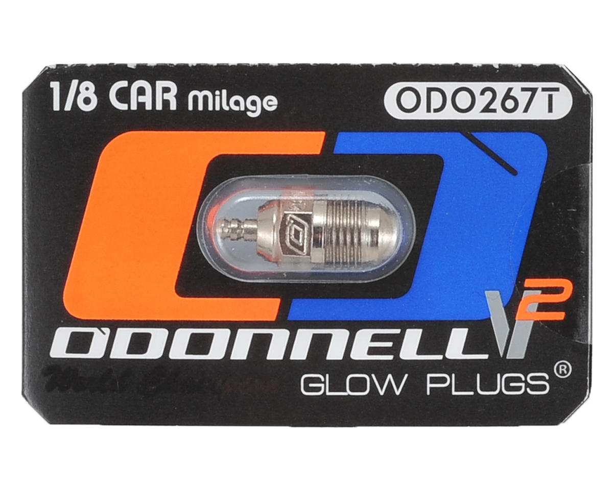 "O'Donnell 267T V2 Ultra Competition 1/8 Off-Road ""Mileage"" Turbo Plug"