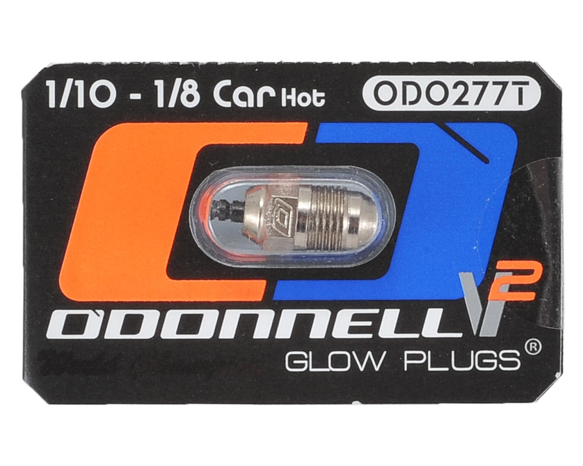 "O'Donnell 277T V2 Ultra Competition 1/8 Off-Road ""Hot"" Turbo Glow Plug (1)"