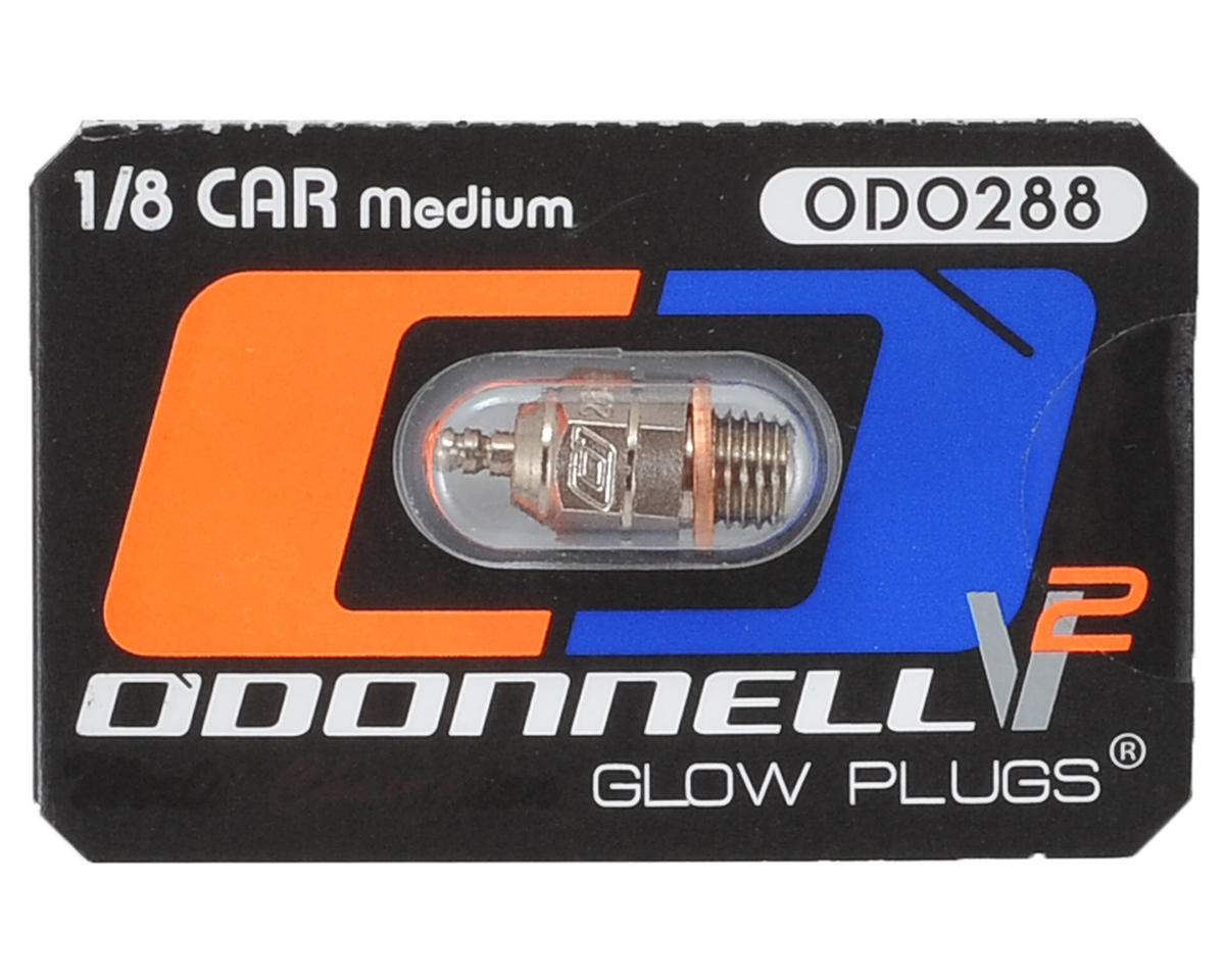 "O'Donnell 288 V2 Ultra Competition 1/8 Off-Road ""Medium"" Standard Glow Plug (1)"