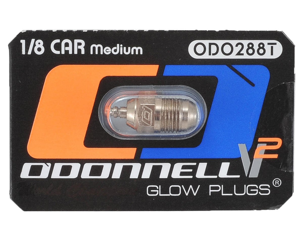 "288T V2 Ultra Competition 1/8 Off-Road ""Medium"" Turbo Glow Plug (1) by O'Donnell"