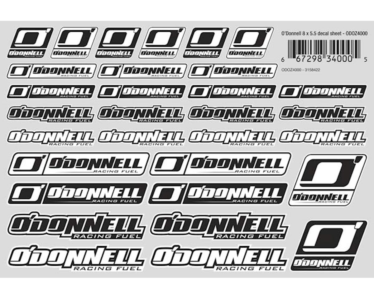 O'Donnell Decal Sheet 8x5.5""