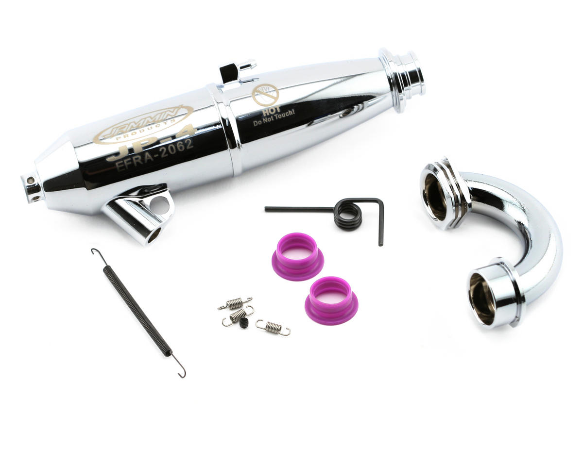 OFNA Jammin JP-4 Chrome Polished Off Road Tuned Pipe