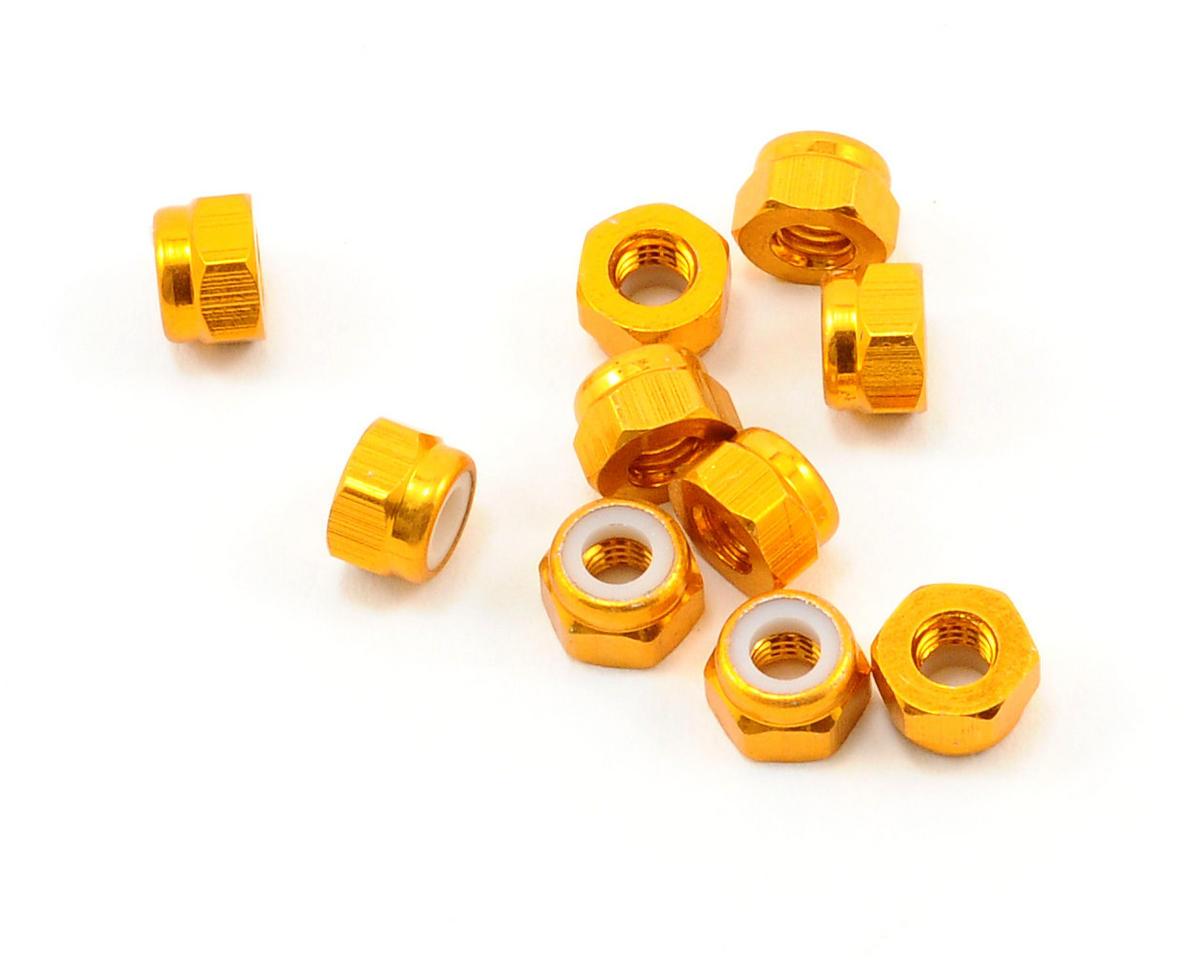 OFNA 3mm Nylok Nuts (Gold) (10)