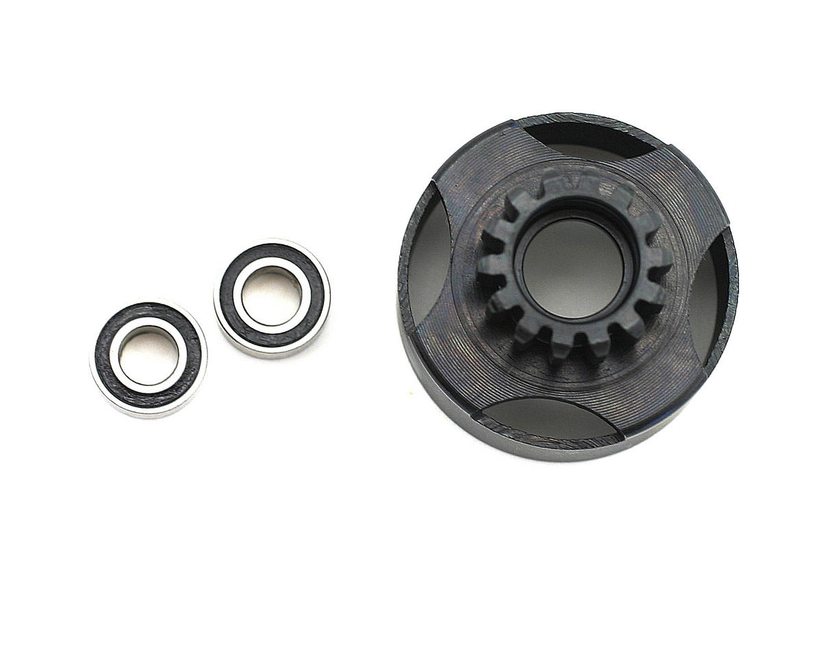 OFNA 1/8 Vented Clutch Bell 14T w/Ball Bearings (Narrow)