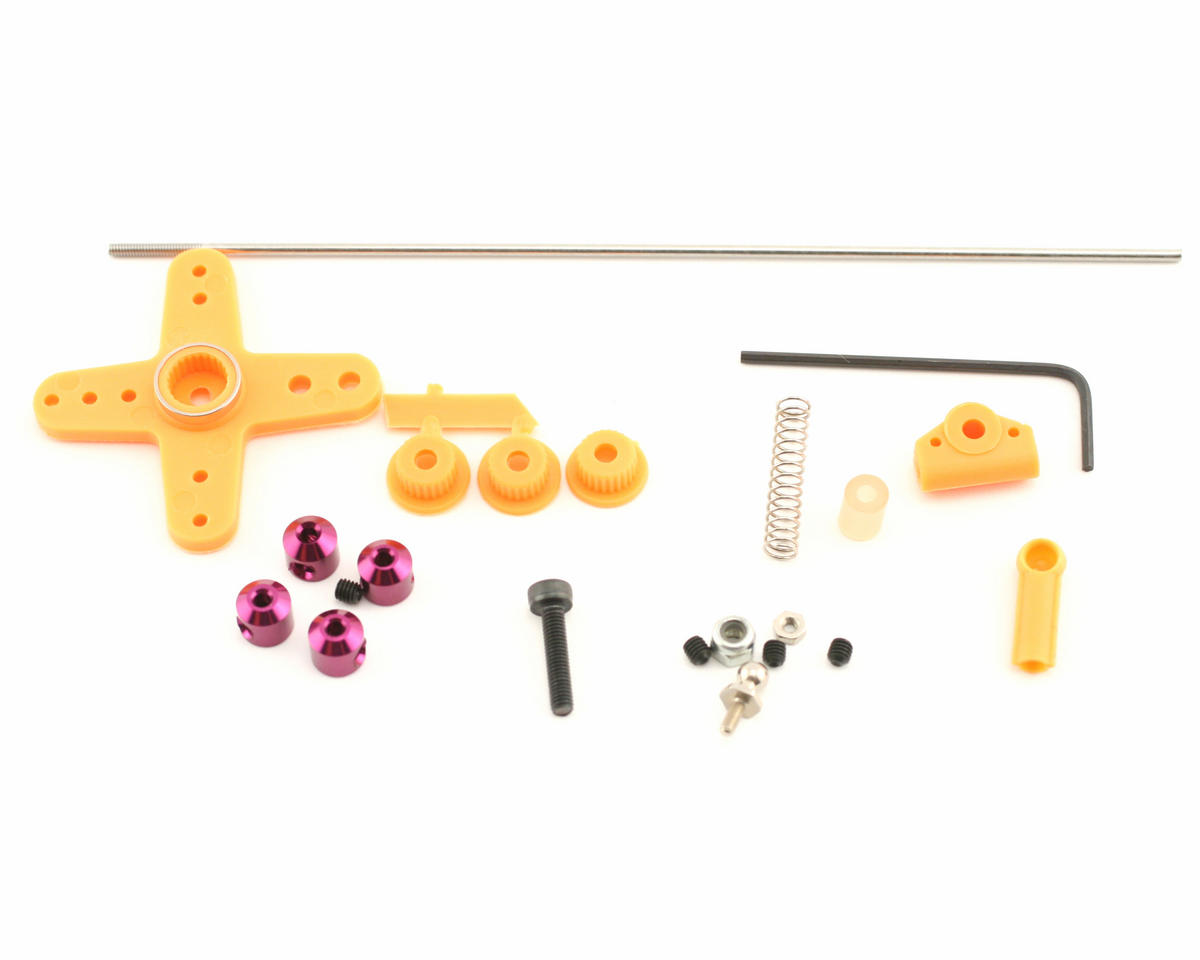 OFNA Linkage Kit, JR/Futaba/Airtronics (Orange)