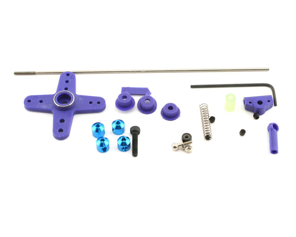 OFNA Linkage Kit, JR/Futaba/Airtronics (Blue)