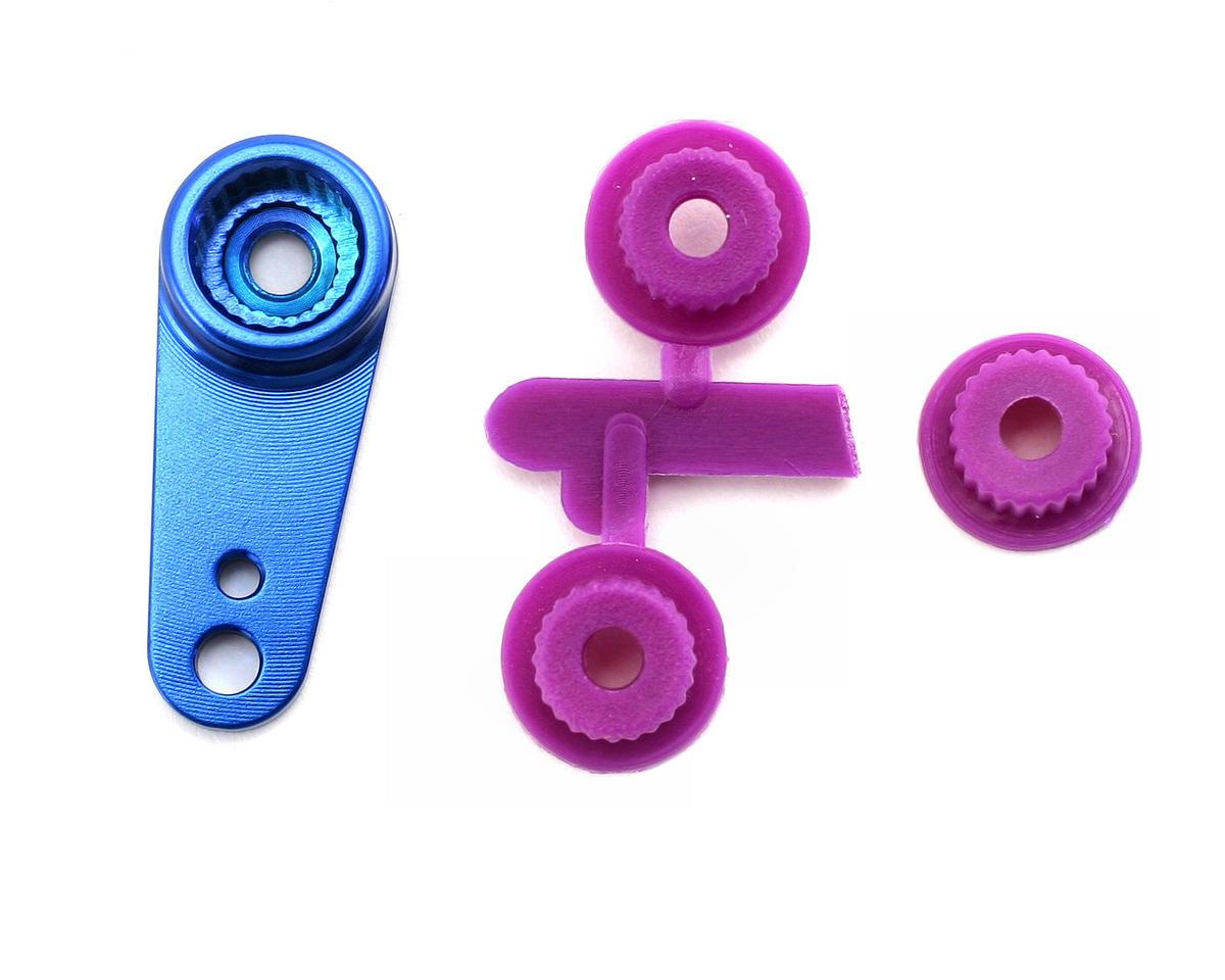 OFNA CNC Machined Aluminum Universal Servo Horn (Blue)