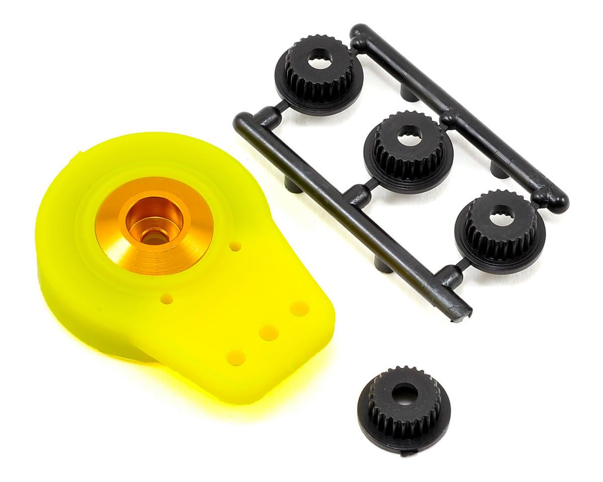OFNA Heavy Duty Servo Saver w/CNC Top (Yellow)