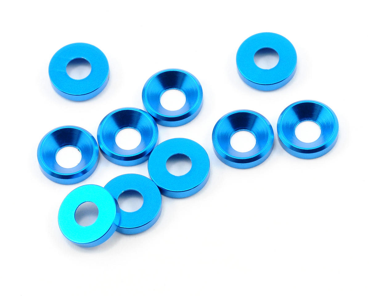 OFNA 4mm Countersink Washer (Blue) (10)