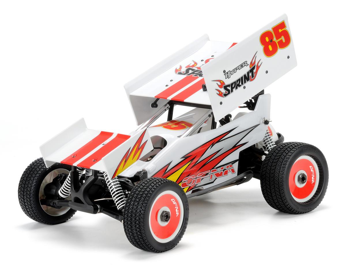 OFNA Hyper Sprint 1/8th Dirt Oval Sprint Car (80% Pre-Built) [OFN14334] |  Cars & Trucks