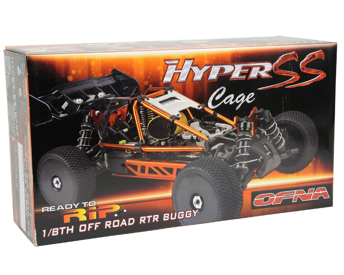 OFNA Hyper SS Cage RTR 1/8 Nitro Off Road Buggy w/JL .28 & 2.4GHz Transmitter