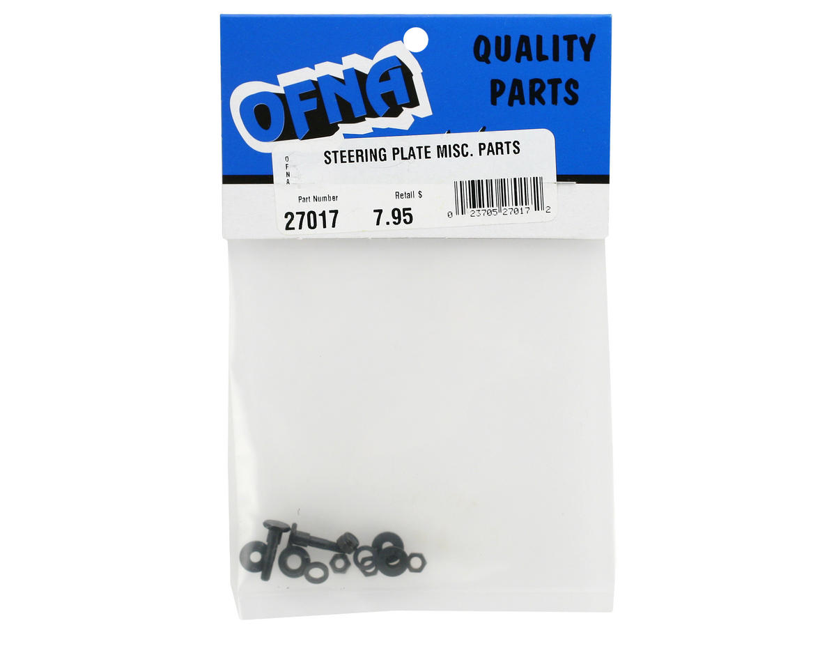 OFNA Steering Plate Accessories & Screw