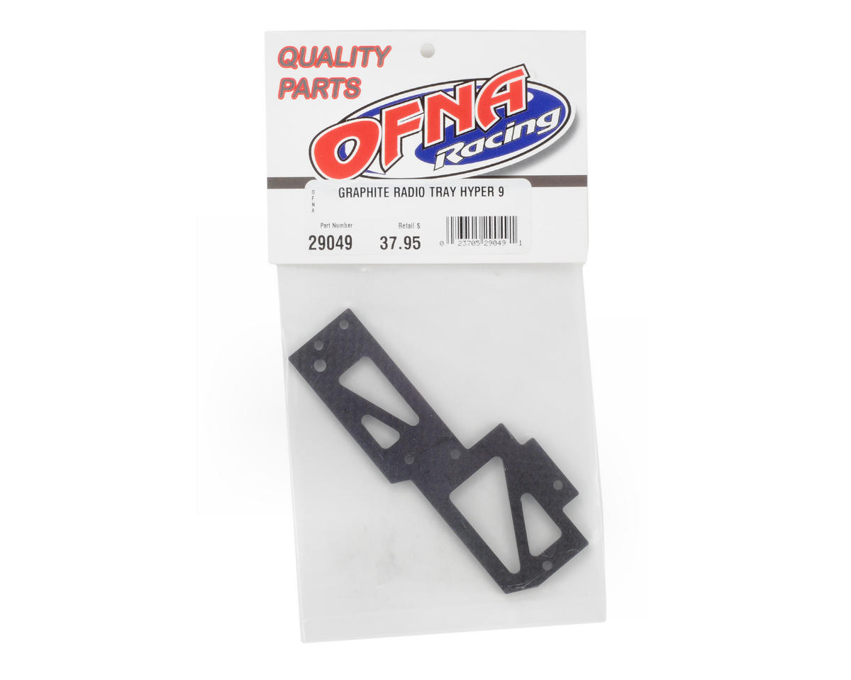 OFNA Graphite Radio Tray