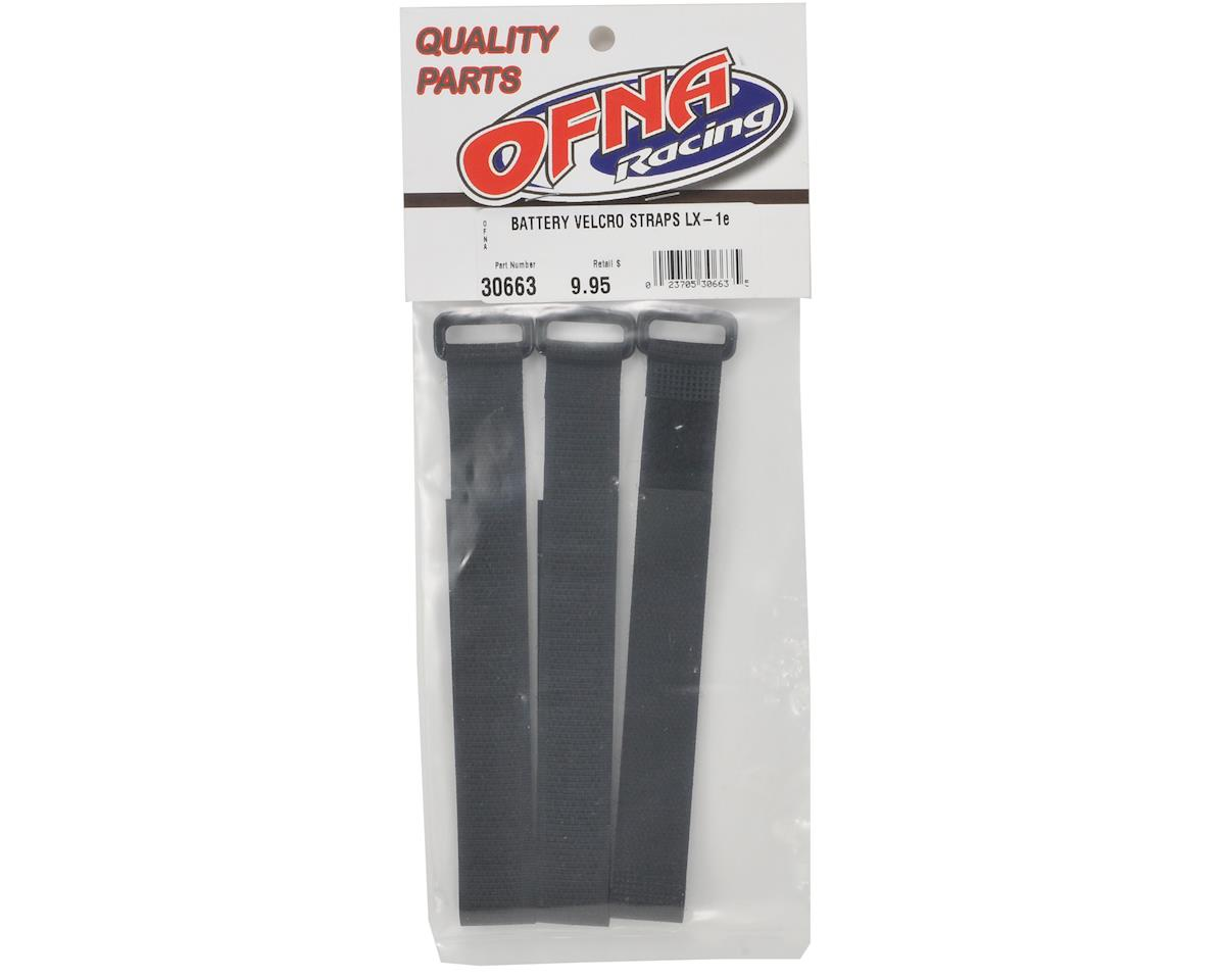 OFNA Velcro Battery Strap Set (3) (LX1e)