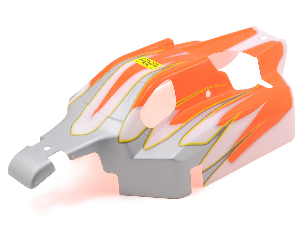 OFNA Ultra LX-2 Pre-Painted Body (Orange/White)