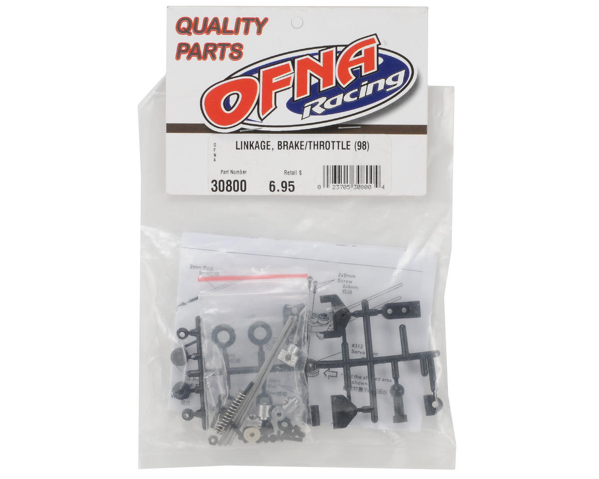 OFNA Brake/Throttle Linkage Set