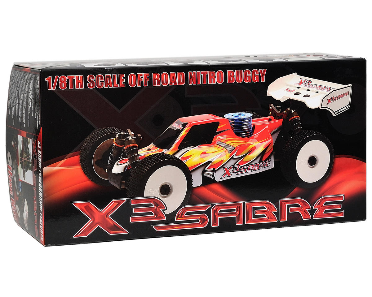 OFNA X3 Sabre Pro 2.0 1/8 Competition Buggy Kit