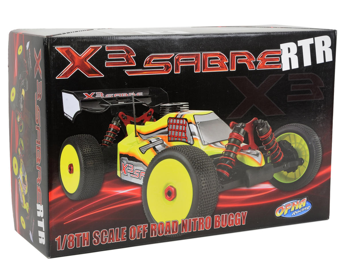 OFNA X3 Sabre RTR 1/8 Nitro Off Road Buggy w/JL .28 Engine & 2.4GHz Radio