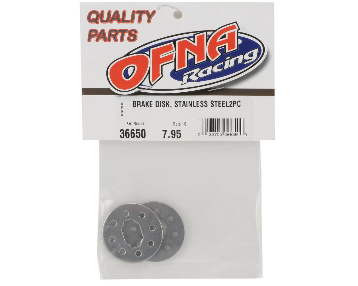 OFNA Stainless Steel Brake Disk Set (2)