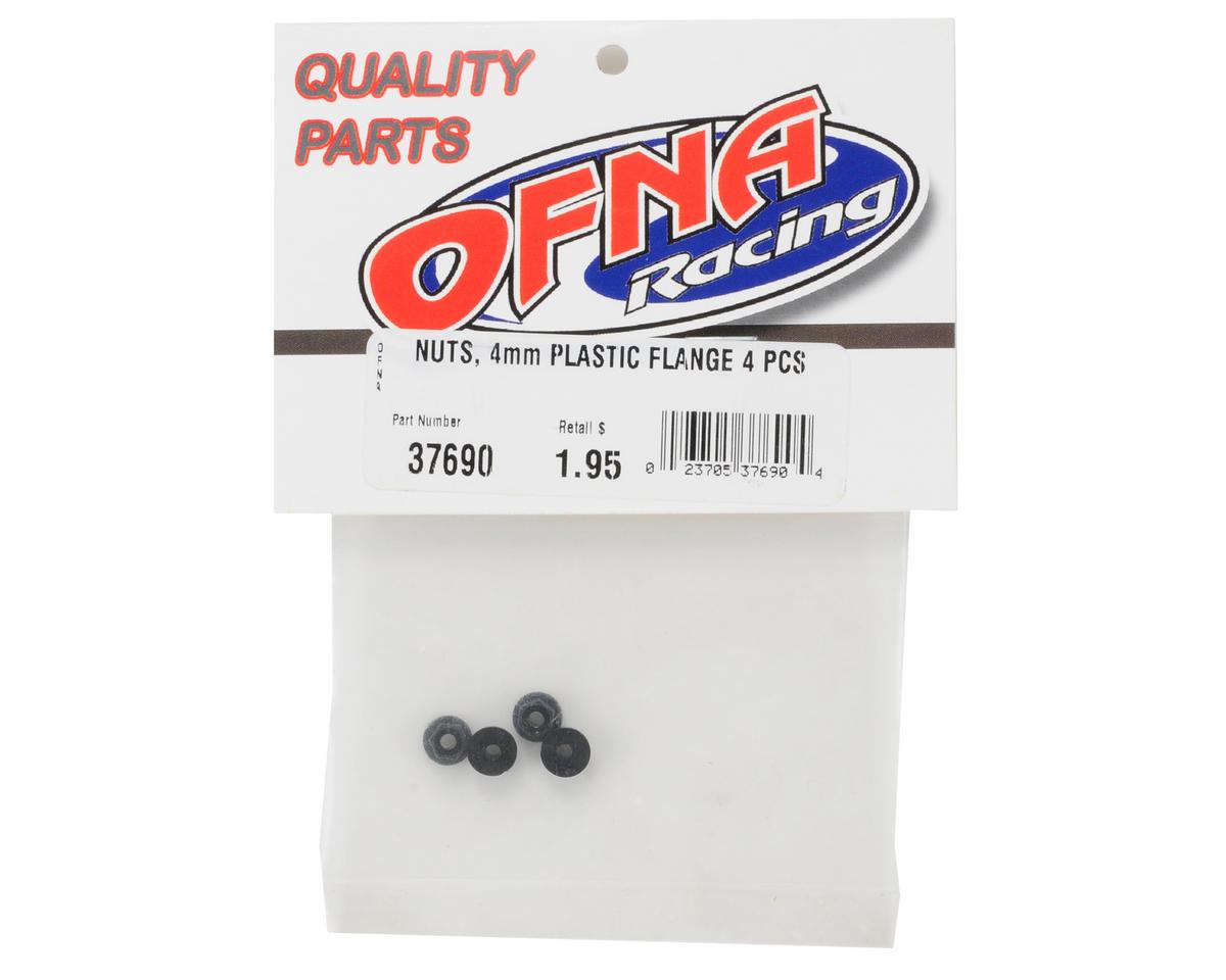 OFNA 4mm Plastic Flange Nut (4)