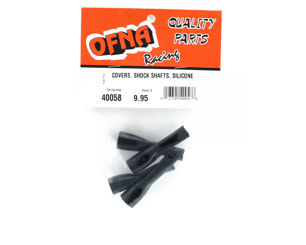 OFNA Silicone Shock Shaft Covers (4)