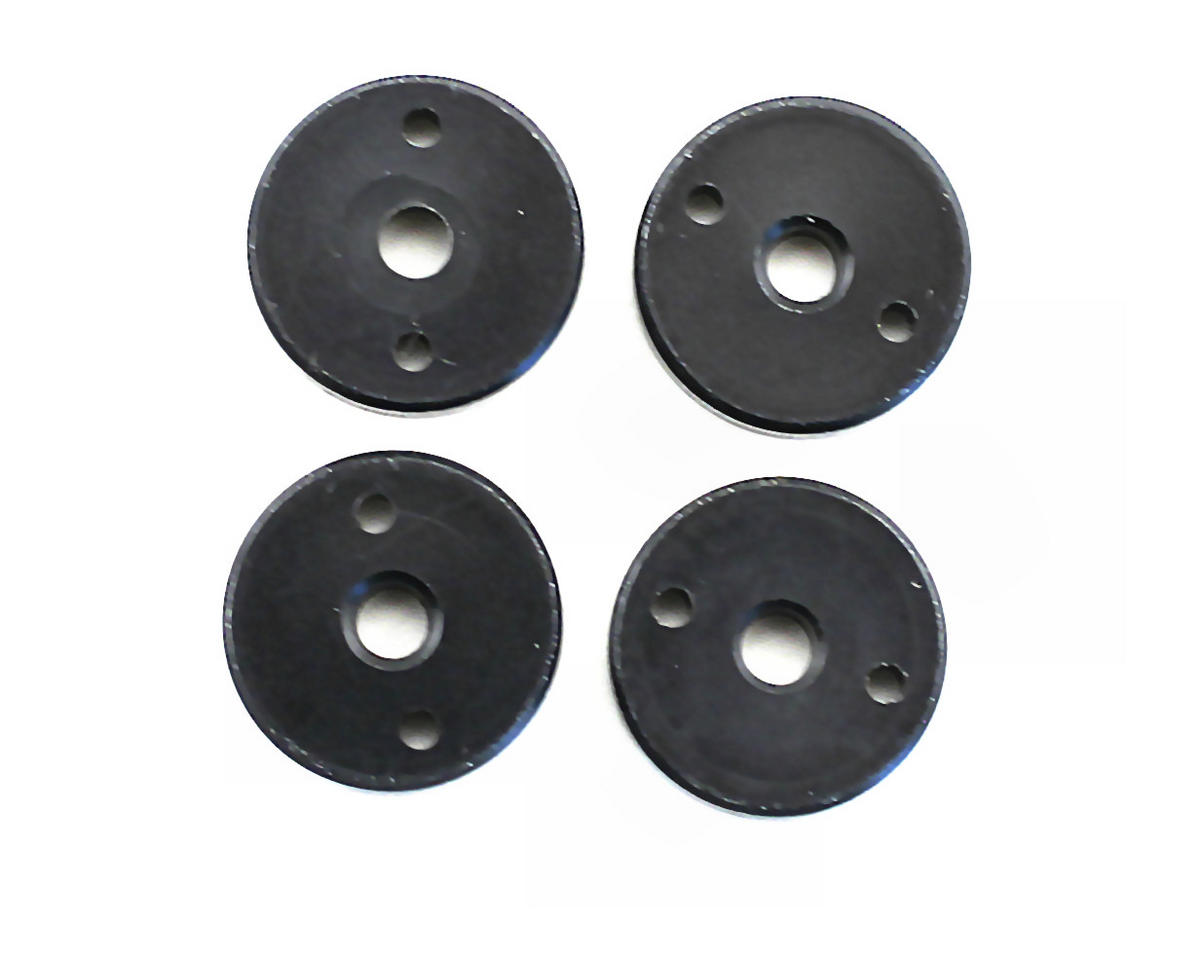 OFNA 1.4mm x 2 Black Shock Pistons (4)
