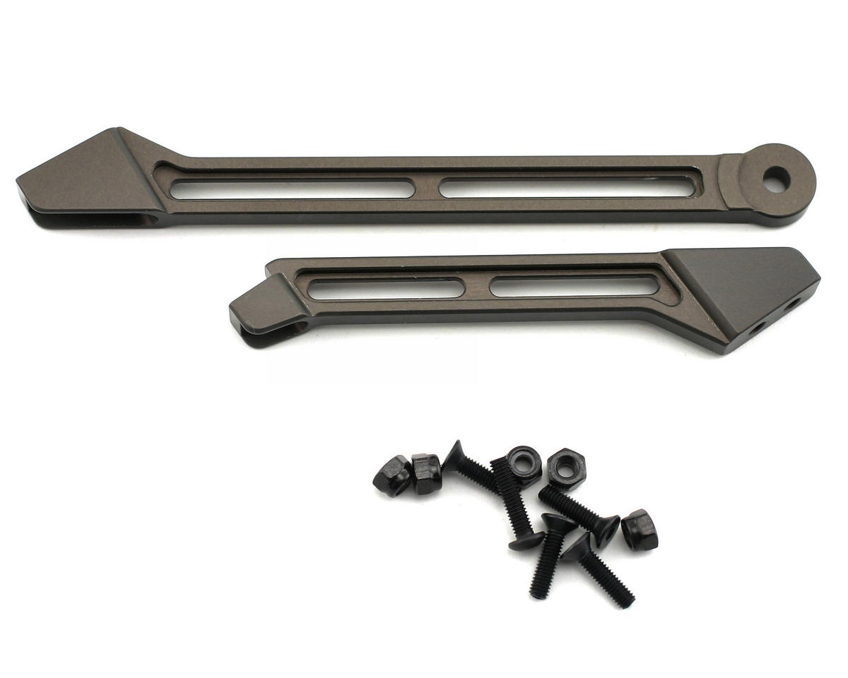 OFNA Hard Anodized Aluminum CNC Center Chassis Braces