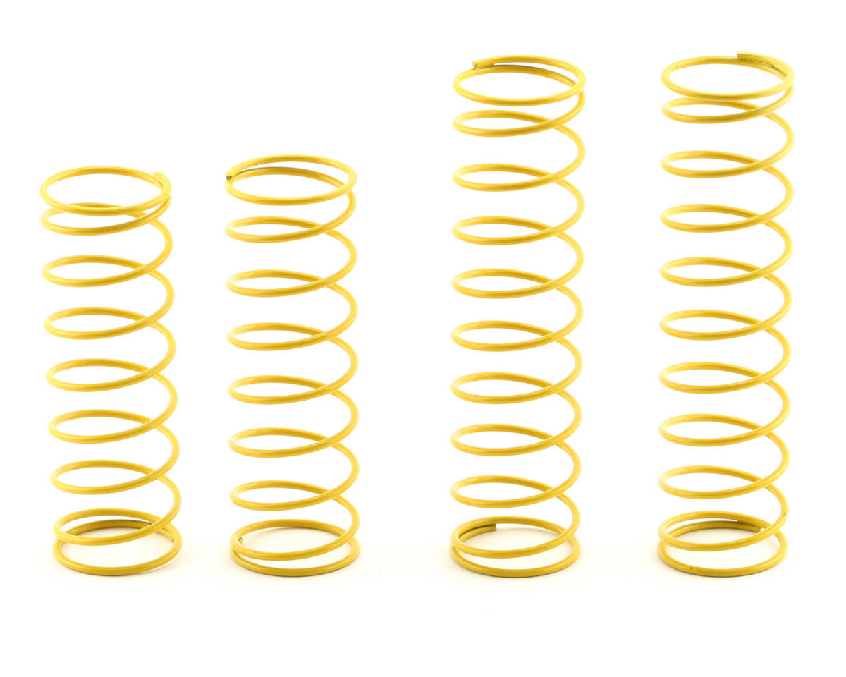 OFNA 16mm Super Big Bore Shock Springs (Yellow - Super Soft) (4)