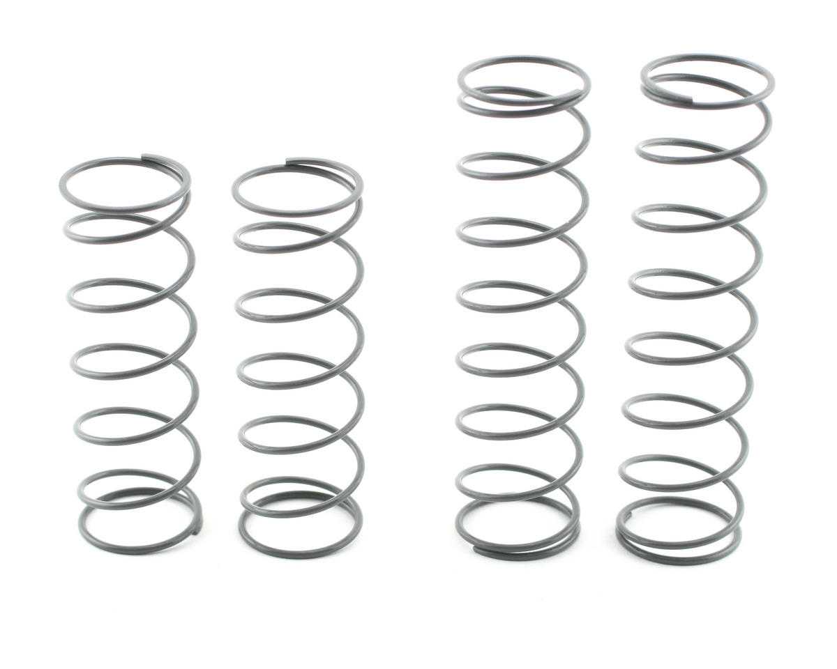 OFNA 16mm Super Big Bore Shock Springs (Gray - Firm/Hard) (4)