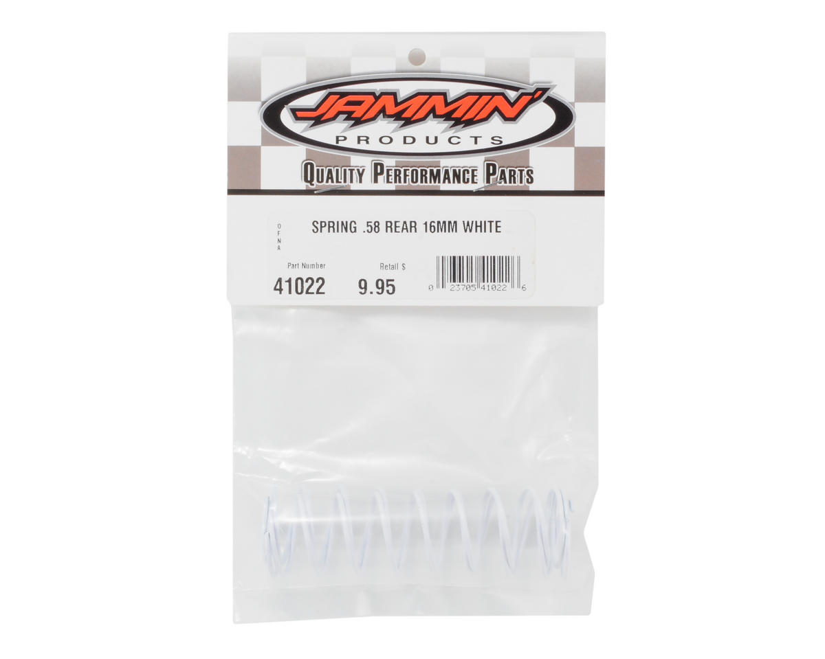 OFNA 16mm Rear Shock Spring (.58 - White)