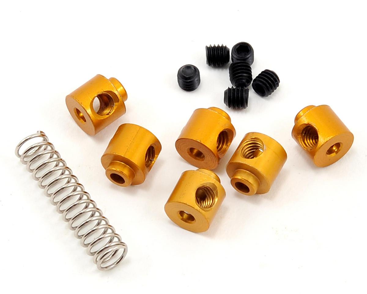 OFNA Aluminum Linkage Stopper Set (Gold)