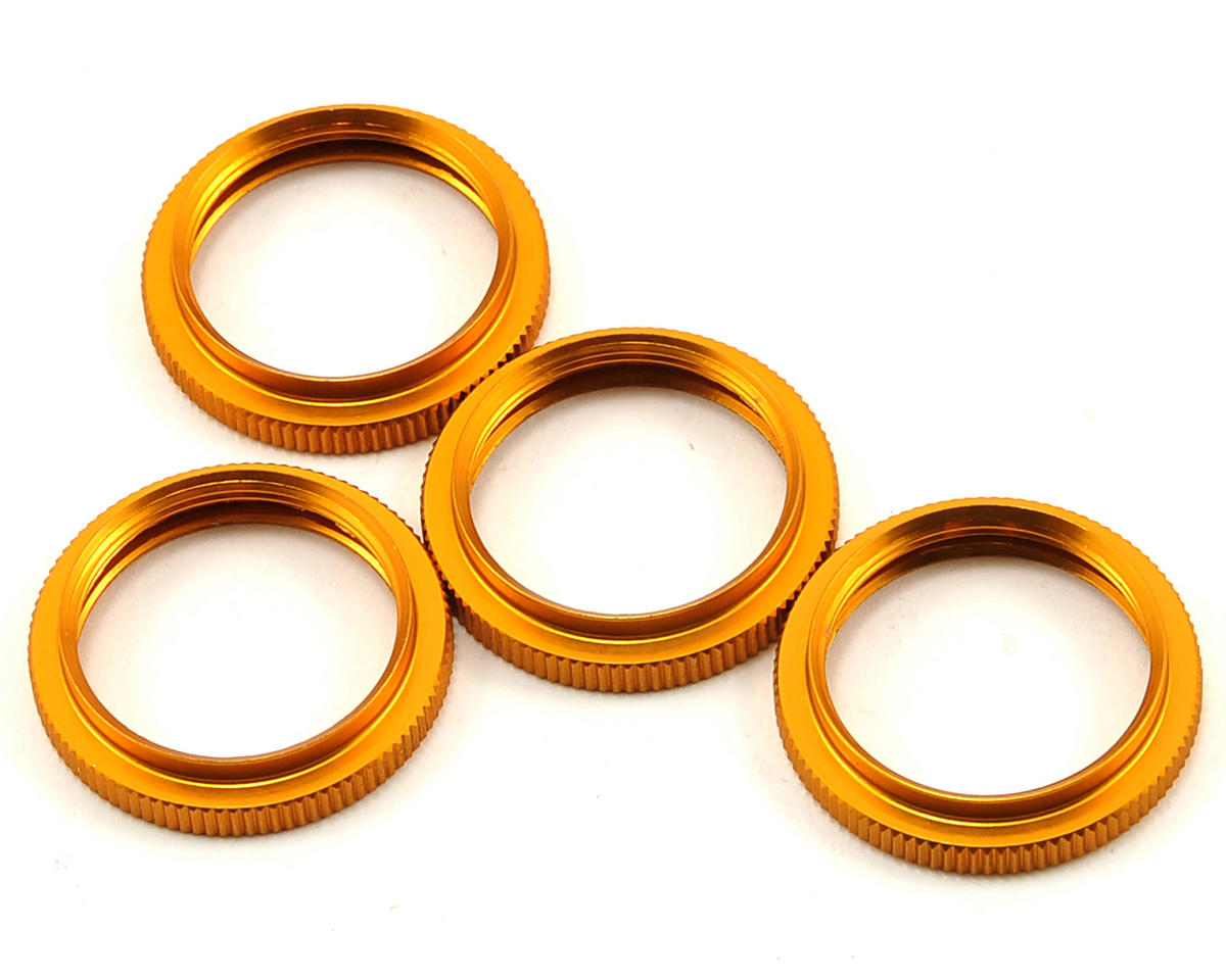 OFNA Shock Spring Adjustment Collar Set (Gold)