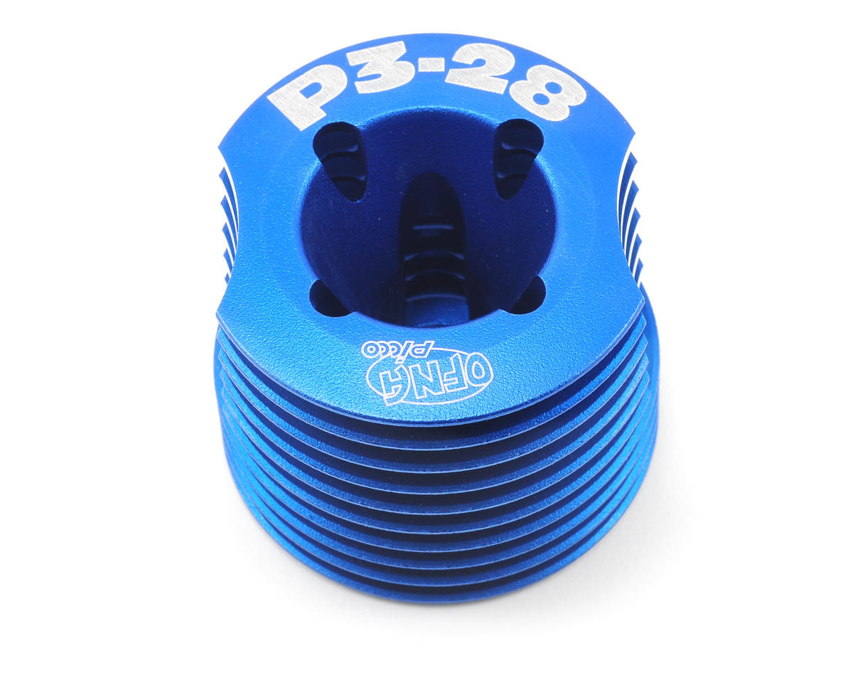 OFNA .28 Engine Cooling Head (Blue)