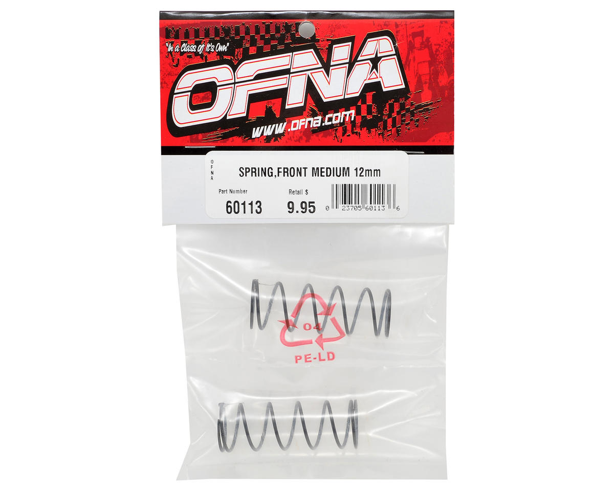 OFNA 12mm Front Shock Spring (Medium) (2)